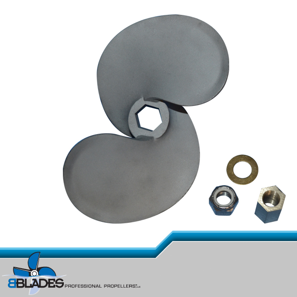 Leading Edge Mud Propeller From Bblades Professional