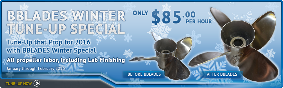 BBLADES Winter Tune-Up Special 2016
