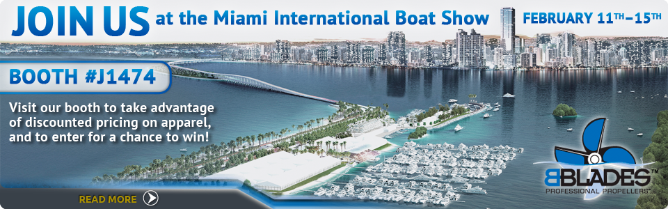 BBLADES Boating News: Gearing Up for the Miami International Boat Show