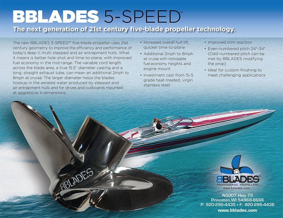BBlades Propellers | Next generation of 5 blade propeller